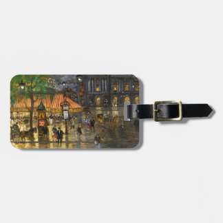 Constantin Korovin: Grand Opera, Paris Luggage Tag