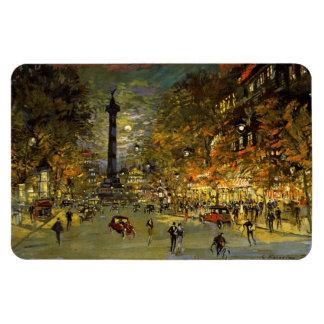 Constantin Korovin: The Square of Bastille, Paris Magnet