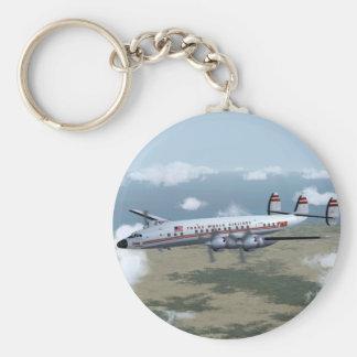 Constellation Airliner Keychain