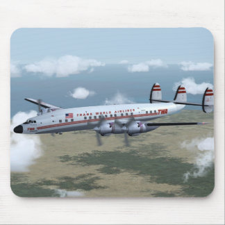 Constellation Airliner Mousepad