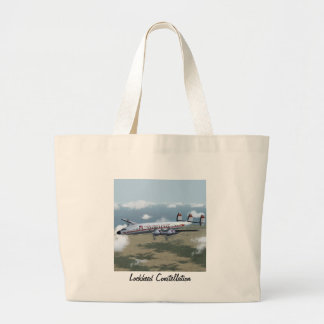 Constellation Airliner Canvas Bags