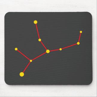Constellation constellation Virgo virgin virgin Mousepad