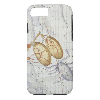 Constellation of Libra, plate 7 from 'Atlas Coeles iPhone 7 Case