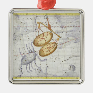 Constellation of Libra plate 7 from Atlas Coeles Christmas Ornaments