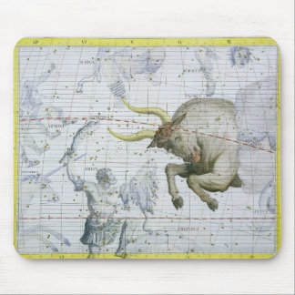 Constellation of Taurus, plate 2 from 'Atlas Coele Mouse Pad