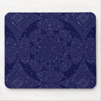 Constellation Parallel Universe Shibori Space Time Mouse Pad