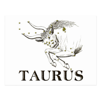 Constellation: Taurus Postcard