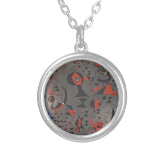 Constellation Toward the Rainbow Silver Plated Necklace