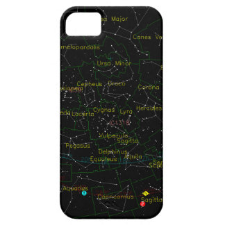 Constellations Map of the Sky iPhone 5 Cases