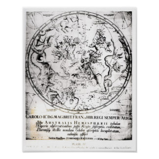 Constellations of the Southern Hemisphere Poster