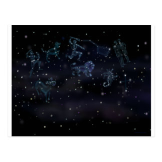 Constellations Postcard