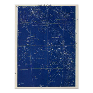 Constellations Sagittarius Capricornus & More Poster