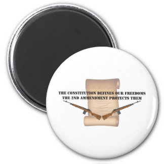 Constituion Defines Our Freedoms Refrigerator Magnets
