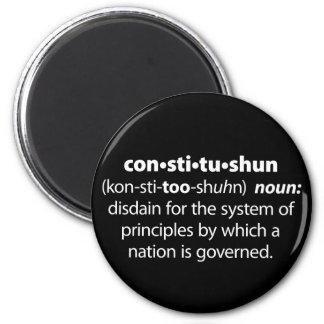 Constitushun Fridge Magnet