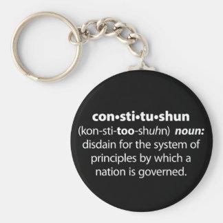 Constitushun Keychain