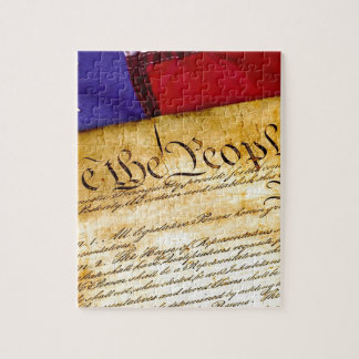 Constitution 4th Of July July 4th Independence Jigsaw Puzzle