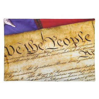 Constitution 4th Of July July 4th Independence Placemat