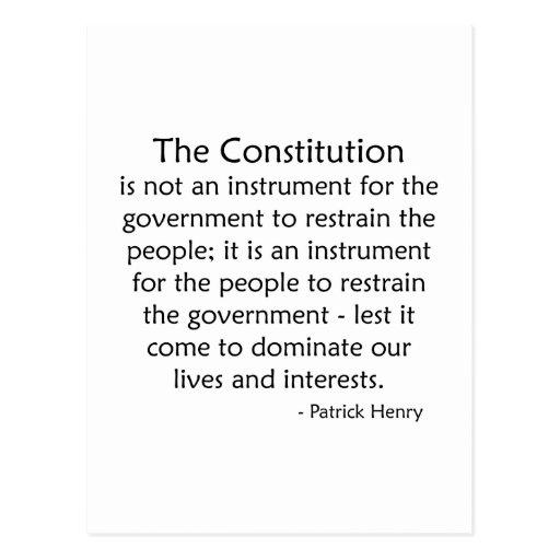 Constitution Postcards