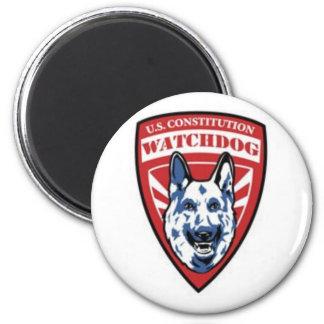 Constitution Watchdog 6 Cm Round Magnet