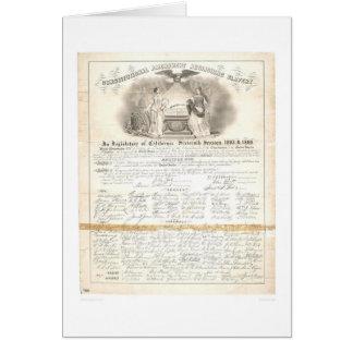 Constitutional Amendment Abolishing Slavery 0453A Greeting Card
