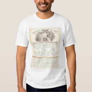 Constitutional Amendment Abolishing Slavery 0453A Tshirt