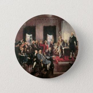 Constitutional Convention 6 Cm Round Badge