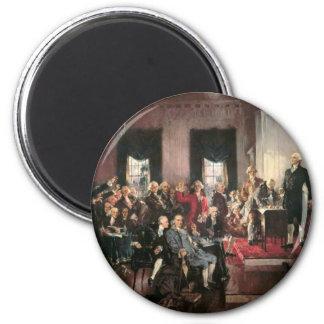 Constitutional Convention 6 Cm Round Magnet