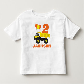 Construction 2nd Birthday Outfit • Toddler T-Shirt