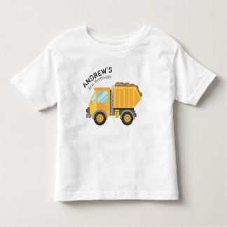Construction Birthday Tshirt