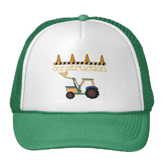 Construction Bucket Loader t-shirts and Gifts Cap