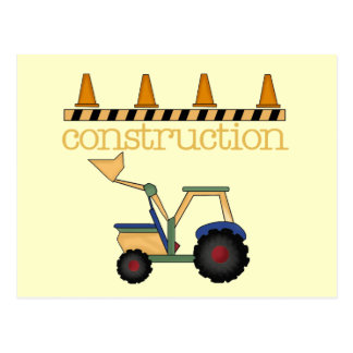 Construction Bucket Loader t-shirts and Gifts Postcard