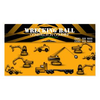 Construction Builder Business Card