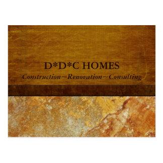 Construction Builders Advertising Postcard