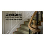 Construction Carpentry Contractor Staircase Trims