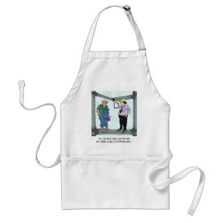 Construction Cartoon 1941 Standard Apron