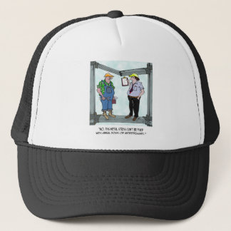 Construction Cartoon 1941 Trucker Hat