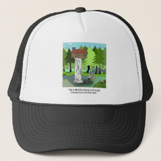 Construction Cartoon 6369 Trucker Hat