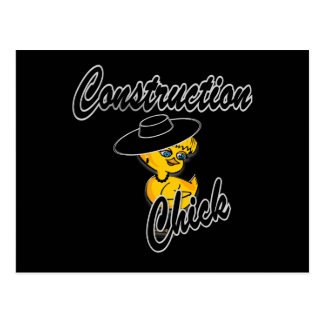 Construction Chick #4 Post Cards