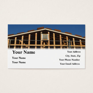 Construction Contractor Home Repair Business Card