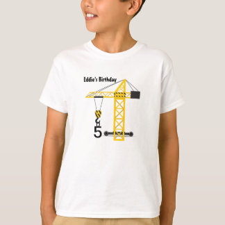 Construction Crane Kid's T-Shirt