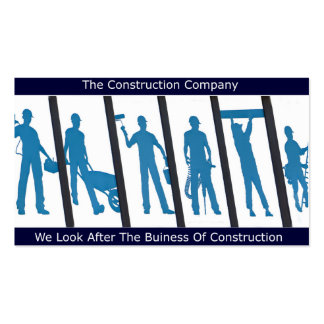 Construction design for Business Card