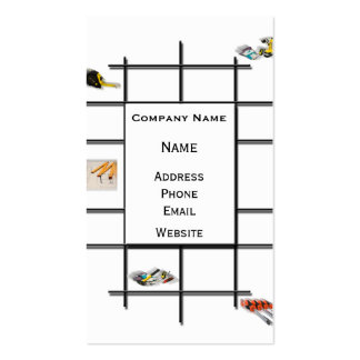 Construction Divergence Pack Of Standard Business Cards