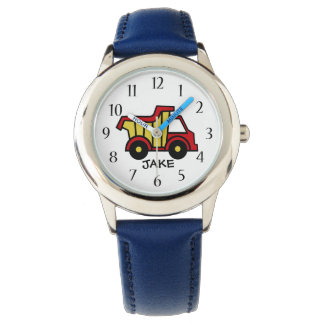 Construction Dump Truck Primary Colors Watch
