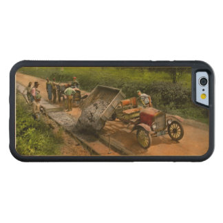 Construction - Dumping made easy 1925 Carved Maple iPhone 6 Bumper Case