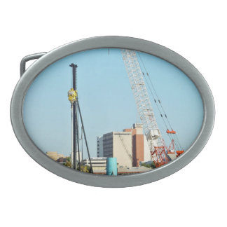Construction equipments belt buckle