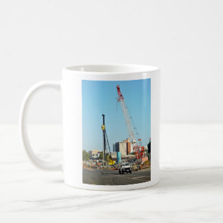 Construction equipments coffee mugs