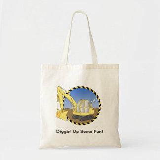 Construction Excavator Digger Goodie Bag