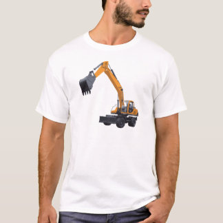 Construction Excavator T-Shirt