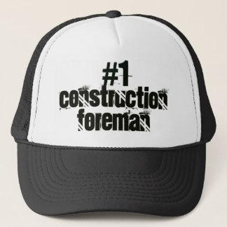 Construction Foreman Trucker Hat