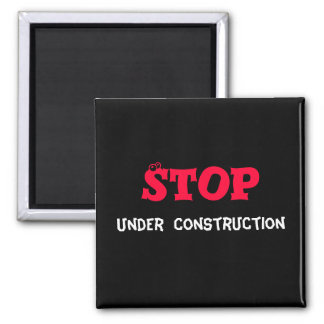 construction fridge magnet